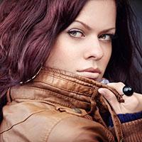 woman modeling